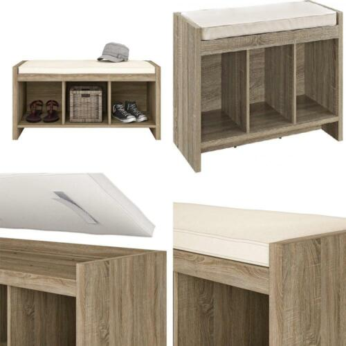 Ameriwood Home Penelope Entryway Storage Bench with Cushion,