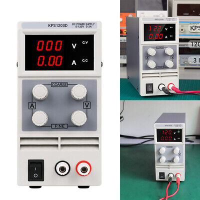 Kps1203d Ac110v Adjustable Dc Power Supply Output Double Display Precision