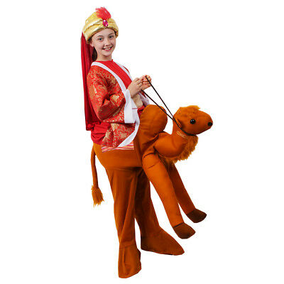 KIDS RIDE ON CAMEL COSTUME CHRISTMAS SCHOOL NATIVITY PLAY CHILDS STEP IN OUTFIT  (Childs Camel Costume)