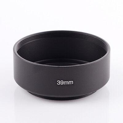 Metal Lens Hood Sun Shade 39mm Thread For Fiji XF 27mm f/2.8 60mm f/2.4 R Macro (Metal Lens Shade)