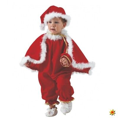 Kostüm Santa Claus Gr. 80-98 Jungen Mädchen Weihnachtsmann Nikolaus (Jungen Santa Claus Kostüm)