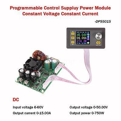 Lcd Digital Programmable Step-down Power Supply Module Dc 0-50.00v0-15.00a I1e6
