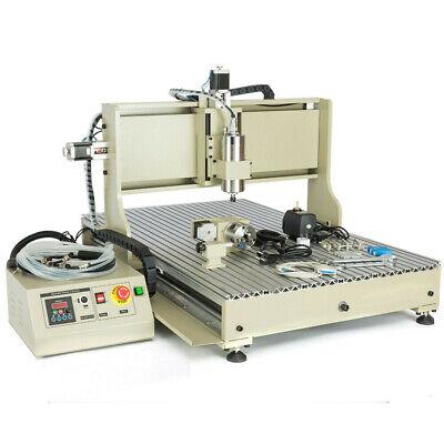 1500w Usb 4axis 6090cnc Router Desktop Metal Engraver Carve Machinesb Top 2020