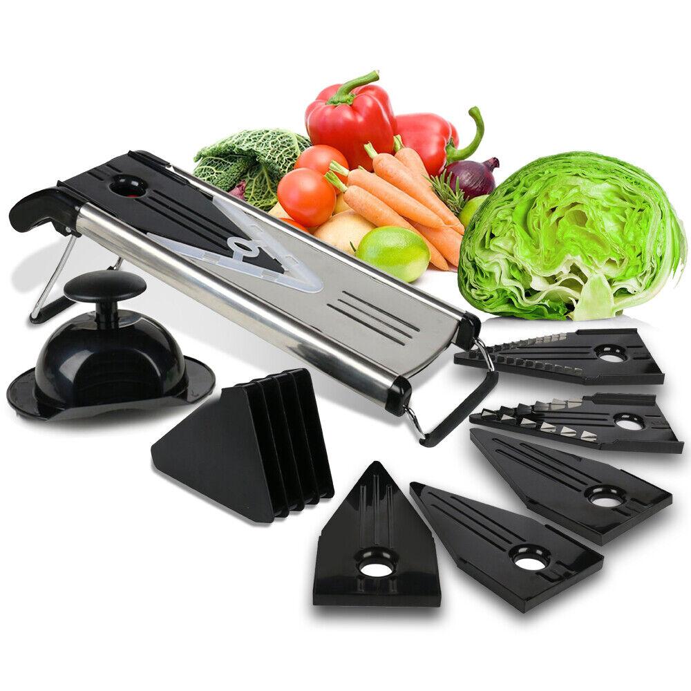 Stainless Steel Mandoline Slicer Fruit Vegetable Food Cutter