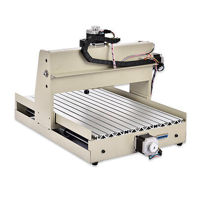 New4 Axis Desktop Cnc 3040t Router Engraver 400w Engraving Mill Drill Machine