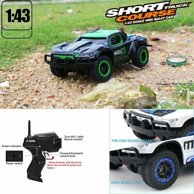 1/43 2.4G 4WD Rc Car Electric Short Course Truck Rally Monster Truck Off-Road RC