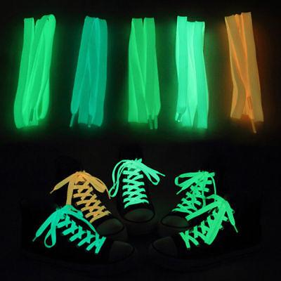 LED Flash Luminous Shoe Night Party Gift Laces Shoelace Light Up Glow - Led Flashing Shoelaces