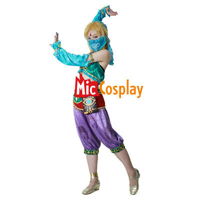 Female Zelda Link Gerudo Cosplay Costume The Legend of Zelda Breath of the Wild
