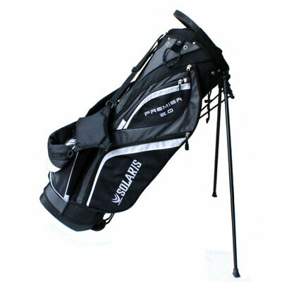 New Solaris Golf Premier 2.0 Stand Bag - ULTRA LIGHTWEIGHT 14 WAY -