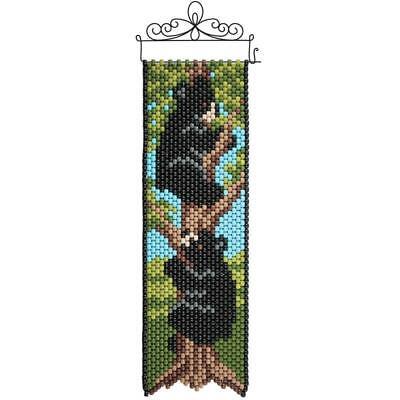 Banner Bead Kit (Herrschners® Black Bear Cubs Beaded Banner Kit )