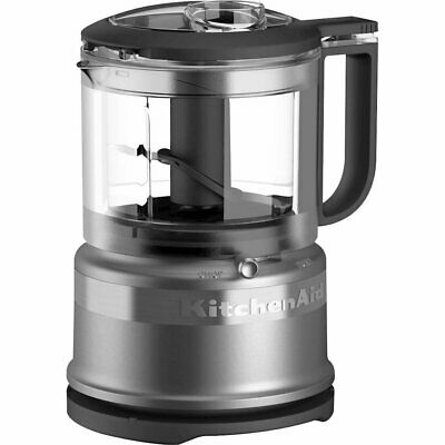 KitchenAid - 3.5-Cup Mini Food Processor - Contour Silver