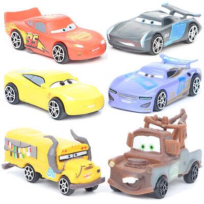 Cars Lightning McQueen Mater Jackson Car 6 PCS Action.Figure Kids Gift Doll Toys - Lightning Mcqueen Kids Car
