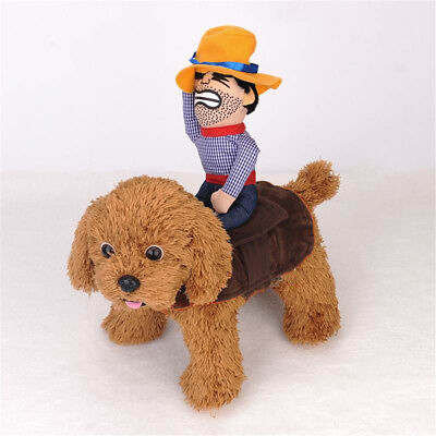 Pug Dog Costume (Pet Dog Costume Cotton Knight Clothes Cowboy Rider Style Clothes For Pug)