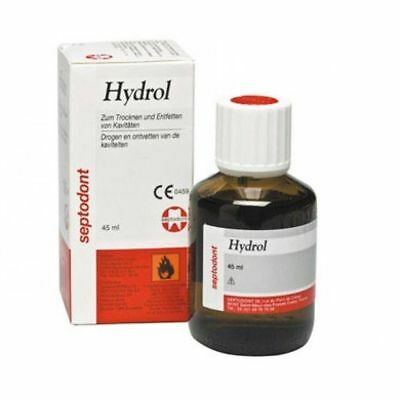 Septodont Hydrol For Dehydrating And Degreasing Agent For Dental Cavities New