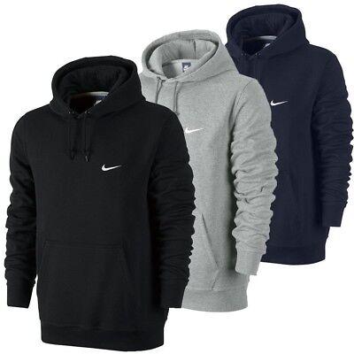 Men's New Nike Club Fleece Zip Hoodie Hoody Hooded Sweatshirt Jumper Pullover Club Fleece Hoodie