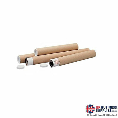 Brown 47650LM 970x100mm Mailing Postal Tube Pack 5's