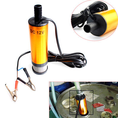 Diesel Fuel Water Oil Car Electric Pump Transfer Submersible Pump 12 Lmin Handy
