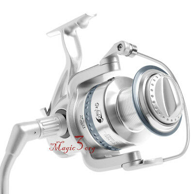 Surf Fishing Spinning Reel Long Casting Heavy Duty Super Strong Shark 8000-11000 ()