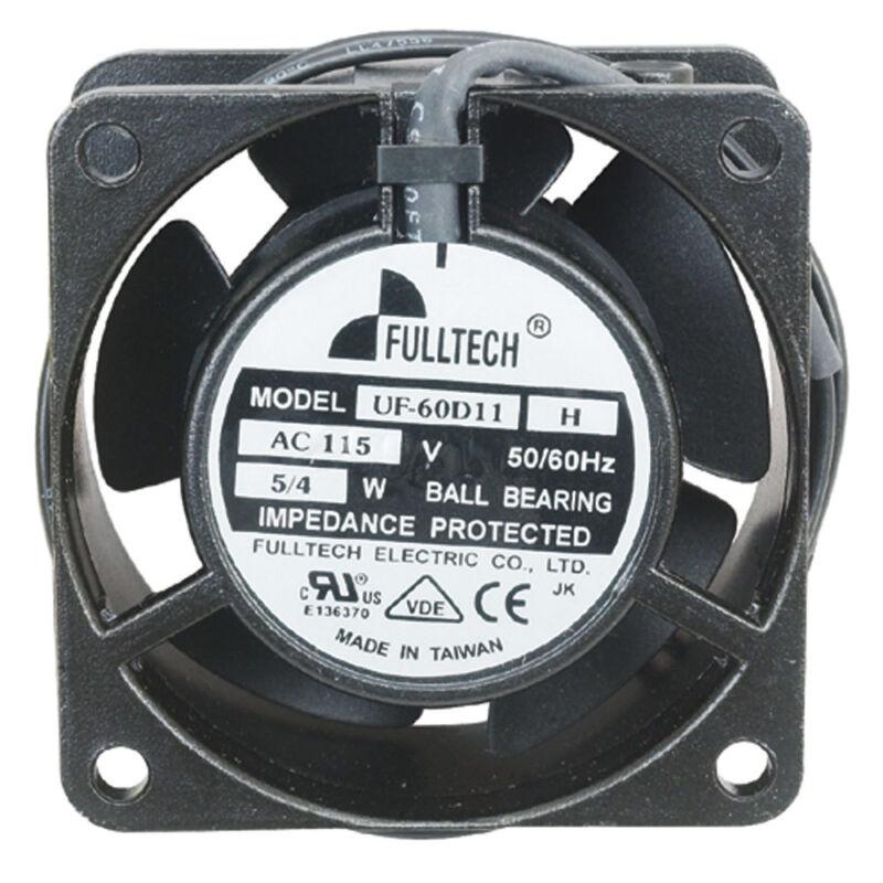Fulltech Electric UF-60D11HBWH-R 115 Volt AC Fan 10.2  CFM 60mm x 60mm x 30mm
