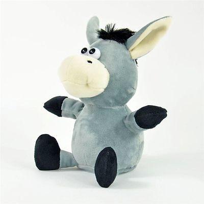 Laber Sprechender Esel Emil Chatter Plüsch Donkey plappert alles nach Neu OVP