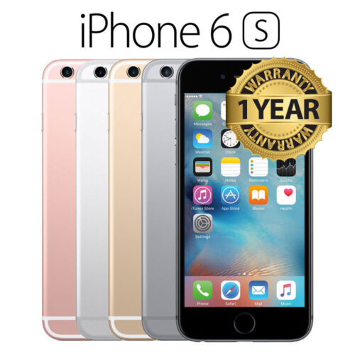 SELLER REFURBISHED APPLE IPHONE 6/ PLUS/ 6S 16GB 64GB 128GB -GOLD/SILVER/GREY/ROSE UNLOCKED SIMFREE