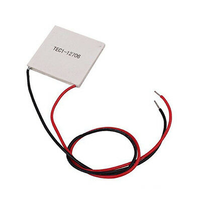 Tec1-12706 Heatsink Thermoelectric Cooler Cooling Peltier Plate 12v 60w Ss490