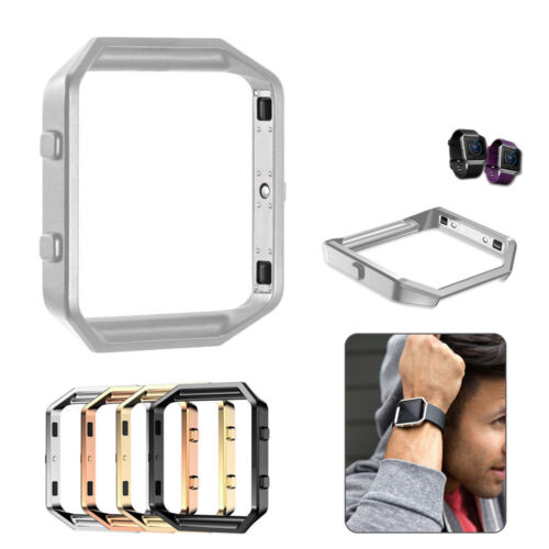 Stainless Steel Metal Watch Frame Holder Cover Case For Fitb