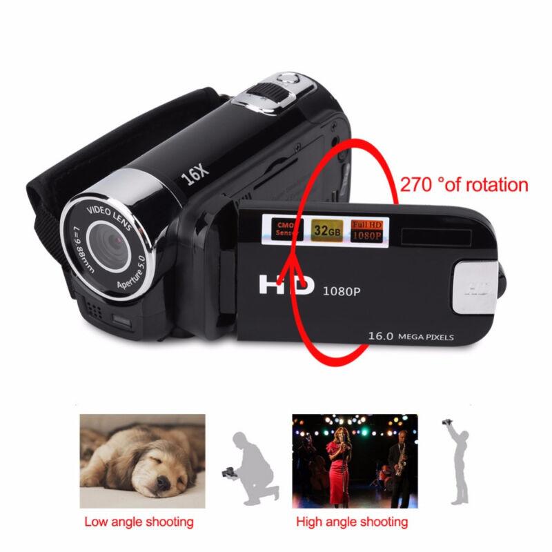 Купить Unbranded/Generic - FULL HD 1080P 16MP 2.7LCD 16X ZOOM Digital Video DV Camera Camcorder US Plug