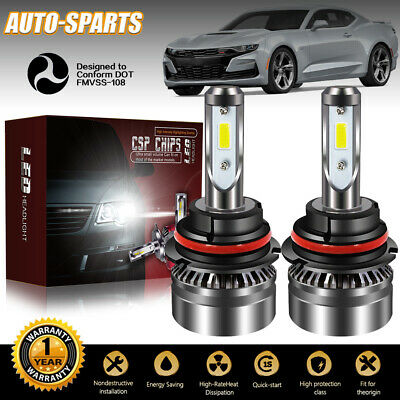 9004 HB1 LED Headlights Bulb 60W 12000LM Kit High Low Beam Upgrade 6000K