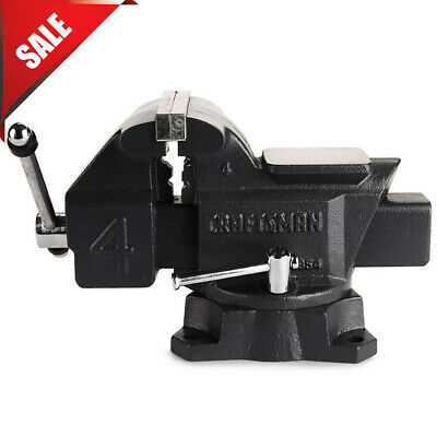 Craftsman 4 Bench Vise Grip Heavy Duty Clamp Wood Metal Shop Mechanics Tool New