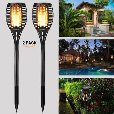 Flickering Flame Solar Powered Garden Torch/ Solar Lights
