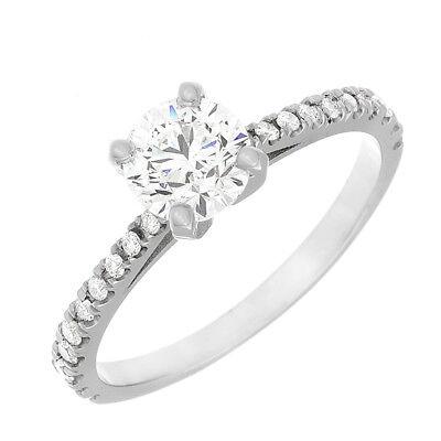 Diamond Engagement Ring Round Brilliant Cut GIA Certified 2.00 Carat Platinum