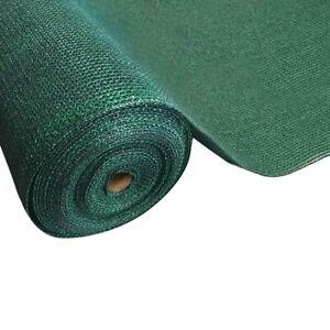 Instahut 90% Sun Shade Cloth Shadecloth Sail Roll Mesh 1.83x10m 195gsm Green