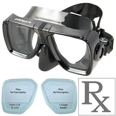 7531d31091b Promate MK245 Scope RX Prescription Optical Scuba Dive Snorkeling Mask  Goggles
