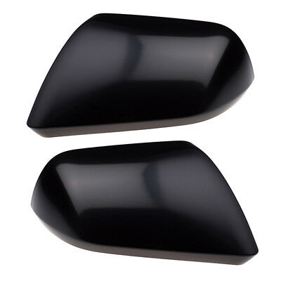 - 2015 2016 Ford Mustang Unpainted Side View Mirror Back Cover Caps Right Left OEM