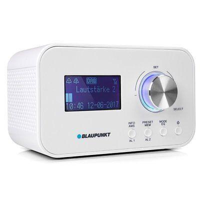 BLAUPUNKT CLRD 30 WH Radiowecker DAB+ RDS Snooze USB LCD RDS Radio Wecker