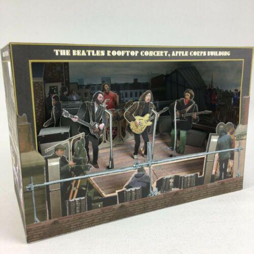 Beatles LEGENDARY ROOFTOP CONCERT 3D Art Paper Diorama Assemble Kit 18.5cm