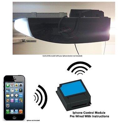 Iphone Garage Door Opener Remote Control Fits Black Marantec Comfort 260 270 280