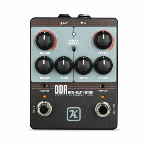 Keeley DDR Drive - Delay - Reverb Guitar Effect Pedal - $179.00