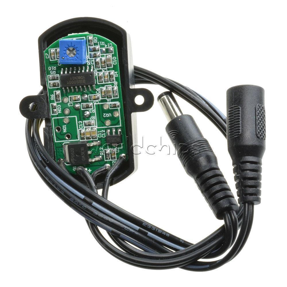 mini dc5 24v pir infrared motion sensor detector led strip automatic switch 5a ebay. Black Bedroom Furniture Sets. Home Design Ideas