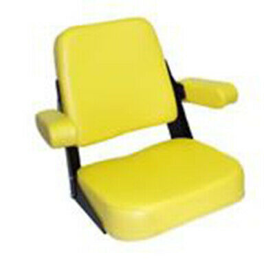 Yellow Vinyl Seat Assembly Fits Jd200yv Fits John Deere Fits Jd Tractor 2010 301