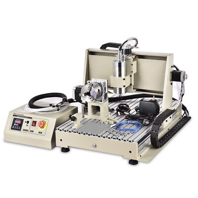 Cnc 6040t 4 Axis Aluminum Alloy Water-cooling Engraving Machine Control Box