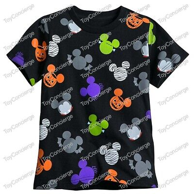 DISNEY Store HALLOWEEN 2017 TEE for Boys MICKEY ICONS T Shirt Choose Size NWT