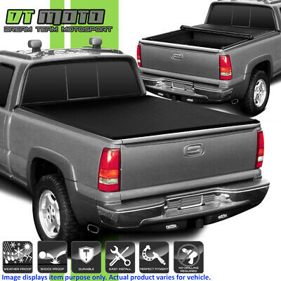 88 Tonneau Cover - Soft Roll Up Tonneau Cover For 1988-1999 Chevy/GMC C/K Truck 6.5FT Fleetside Bed