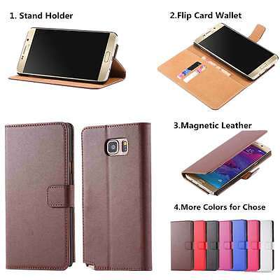 Luxury Leather Flip Magnetic Wallet Case Kickstand Card Slots Cover for Samsung Luxury Wallet Case