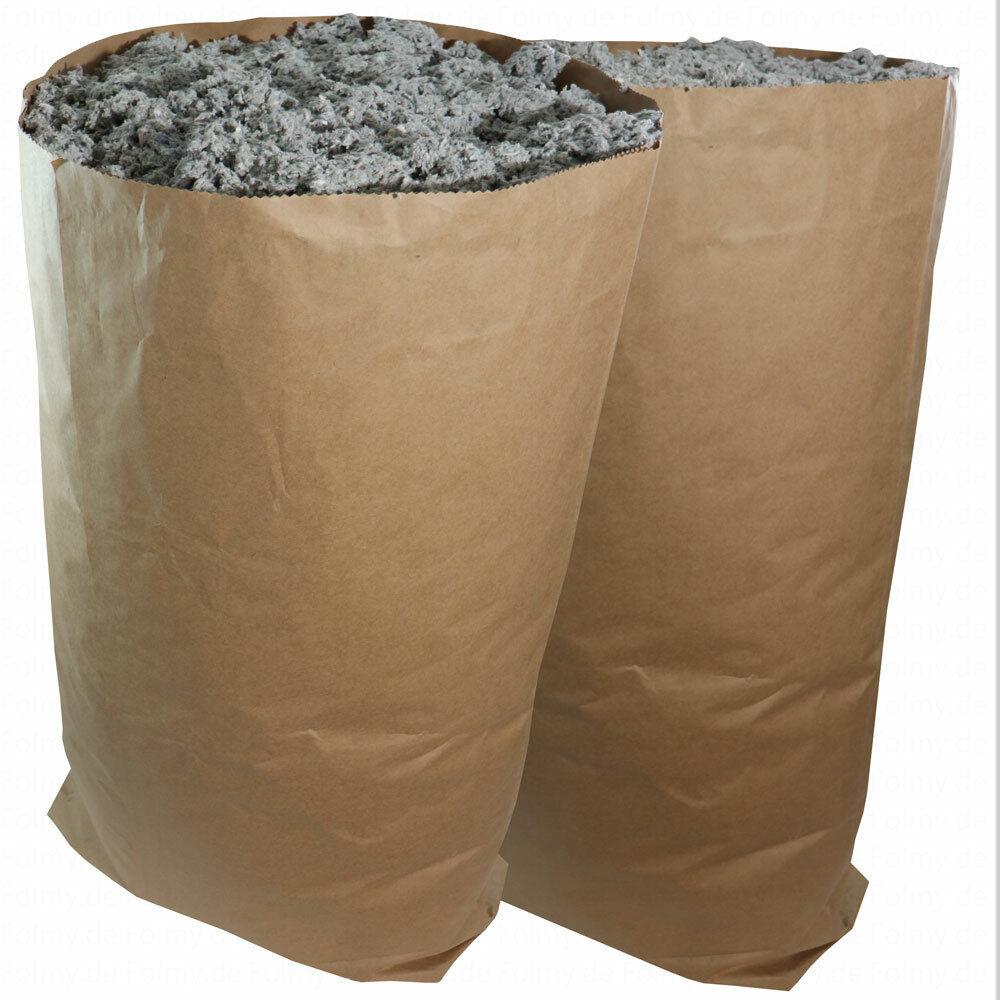 Papier.Müllsack.Bio.Muellbeutel.Müllsäcke 120l.Mülltüten.Papiersack.Abfallsack.