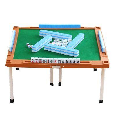 Mahjong Set + Mahjong table + mat + foot Detachable storage bag + Point Bar
