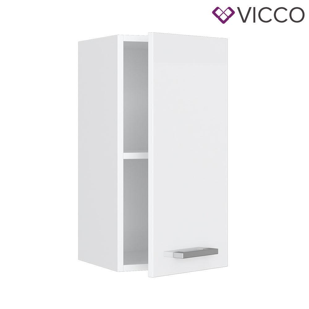 VICCO Küchenschrank Hängeschrank Unterschrank Küchenzeile R-Line Hängeschrank 30 cm weiß