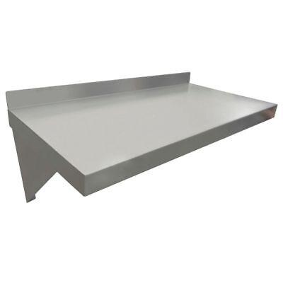 Hubert Wall Shelf 18 Gauge Stainless Steel - 24 L X 12 W