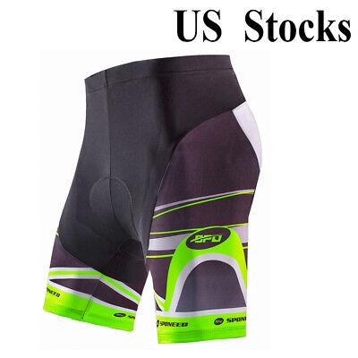 (Bike Shorts Men's Pro Cycling Pants Short Sleeve Cycle Tights Riding Bottoms New)